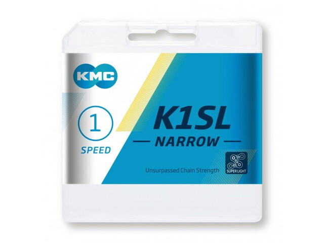 KMC K1SL Narrow Ti-N Chain 1-speed gold